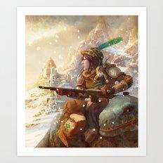 Dragoon legend  Art Print