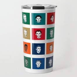 Player a Day Poster 2018 Travel Mug
