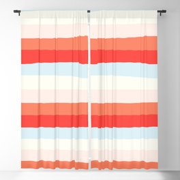 lumpy or bumpy lines abstract and colorful - QAB268 Blackout Curtain