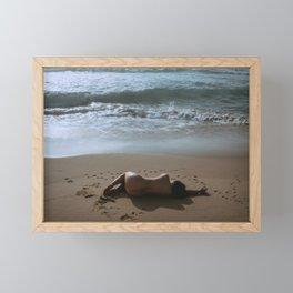 Beach Bum 3 Framed Mini Art Print