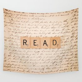 Bookaholic Wall Tapestry