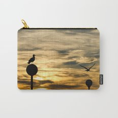 Birds in the sunset Carry-All Pouch