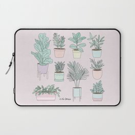 House Plants Guide Laptop Sleeve