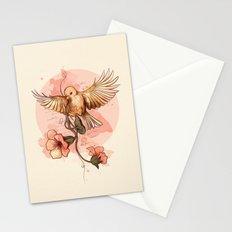 Bird&flowers Stationery Cards