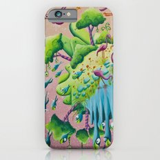 the flamingo world iPhone 6s Slim Case