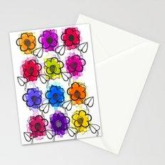 Pop flowers Stationery Cards