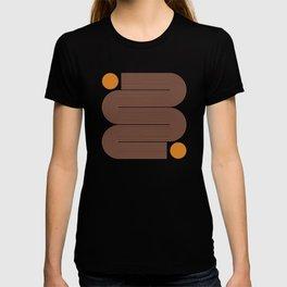 Abstraction_SUN_LINE_ART_Minimalism_002 T-shirt
