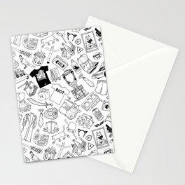 It's Always Sunny Illustration Pattern Stationery Cards