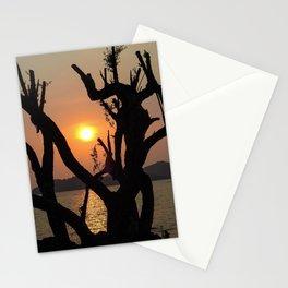 Beautiful sunset at Koh Mak Thailand Stationery Cards