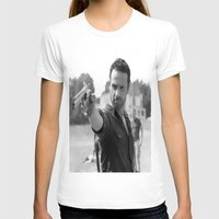 rick grimes T-shirts featuring Rick Grimes by OliGilbert