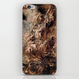 Peter Paul Rubens's The Fall of the Damned iPhone Skin