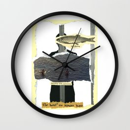 Smoothly With Expression Wall Clock