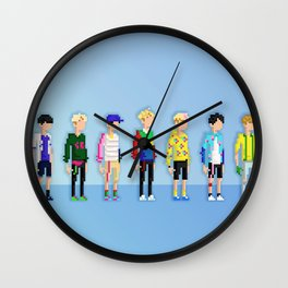 GOT7 8-bit Just Right Wall Clock