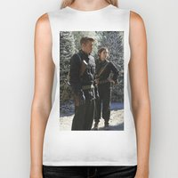 peggy carter Biker Tanks featuring Jack Thompson & Peggy Carter. by agentcarter23