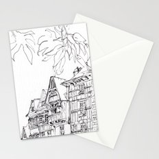 a few timber frames Stationery Cards