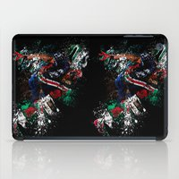 football iPad Cases featuring Football Player by ron ashkenazi