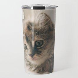 Dreaming Cat Travel Mug