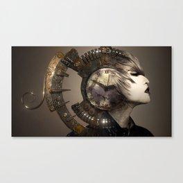 Steampunk Vogue Canvas Print