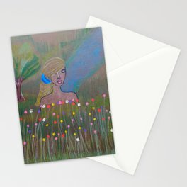 Nature and the Lady Stationery Cards