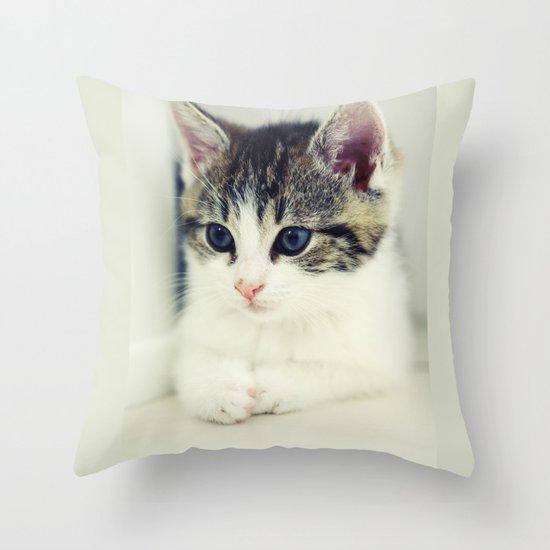 Cat Throw Pillow By Falko Follert Art Ff77 Society6