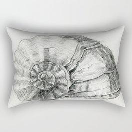 Sea Shell Sketch Rectangular Pillow