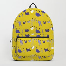 It's laundry day - pattern Backpack