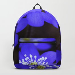 First Spring Flowers in Forest Backpack