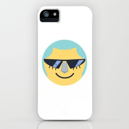 Franky Emoji Design iPhone Case