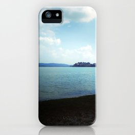 Dark And Light, Lake, Landscape Photography. iPhone Case