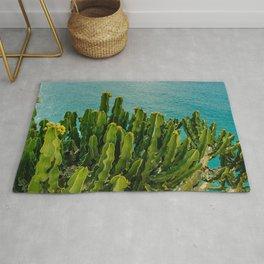Amalfi Coast Cactus Rug