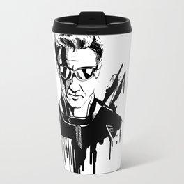 Avengers in Ink: Hawkeye Travel Mug
