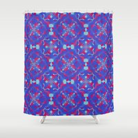 asia Shower Curtains featuring Asia 3 by Emma Stein
