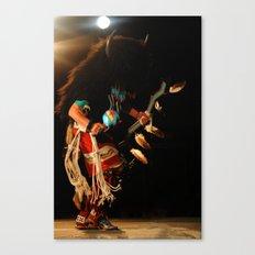 Buffalo Dancer Canvas Print