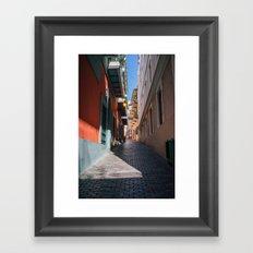Callejón #2 Framed Art Print