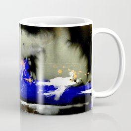 Watercolor Abstract Horizons at Night  Coffee Mug