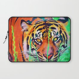 Watercolor Tiger Laptop Sleeve