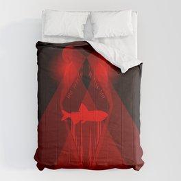 Aglow: stoplight loosejaw Comforters