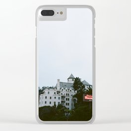 Looming Chateau Marmont Clear iPhone Case