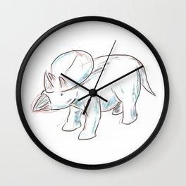 Dinosaurs 3 - Brachyceratops Wall Clock