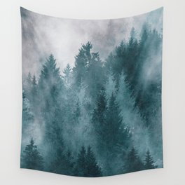 Foggy Forest 4 Wall Tapestry