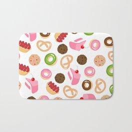 donut & cake & cookies Bath Mat