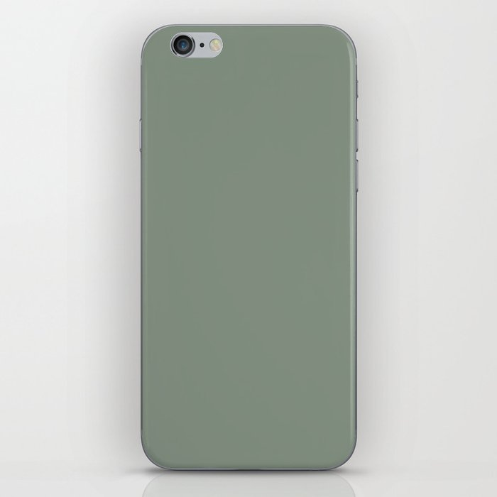 Green Pantone #839182 iPhone Skin