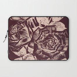 Burgundy in Rose Gold Laptop Sleeve