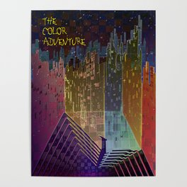 The Color Adventure in The Mistic Areas Poster