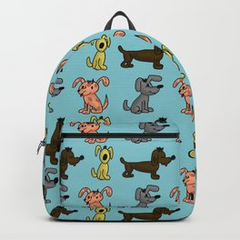small dogs . art Backpack