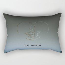 'Til Death Rectangular Pillow