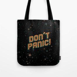 Don't Panic! Pixel Art Tote Bag