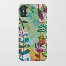Bloom like a Flower iPhone X Slim Case