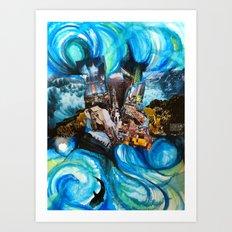 Water World Art Print