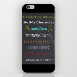 For A Great Principal iPhone Skin